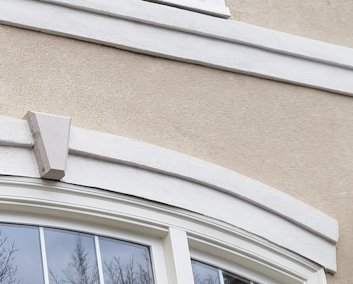 Pebble dash stucco replaced in Paeonian Springs, Virginia